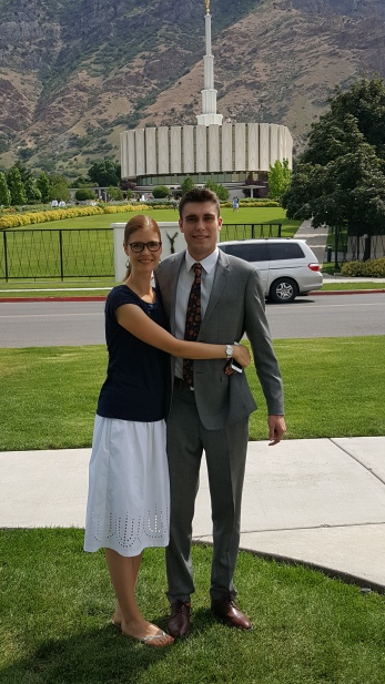 A mom and her missionary